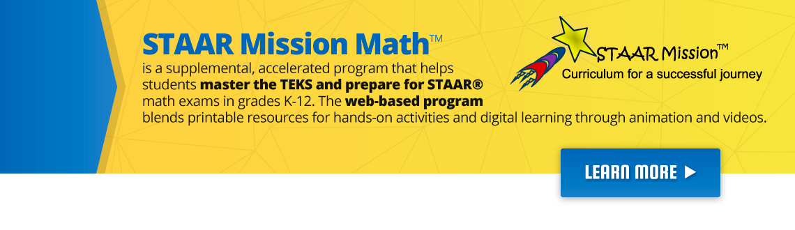 Staar Mission Math