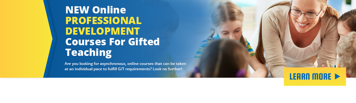 professional development GT courses